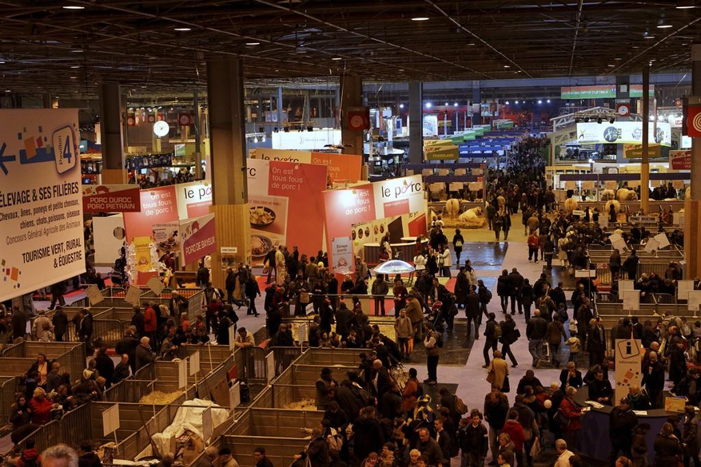 Salon_de_l'agriculture_2011_-_Vue_d'ensemble_pavillon_1_-5